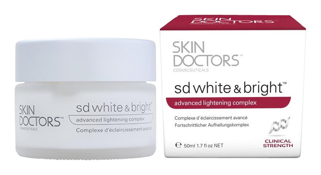 Skin Doctors Cosmeceuticals Отбеливающий Крем для Лица и Тела SD White & Bright, 50 мл аклен отбеливающий крем ахро дерм 50 мл