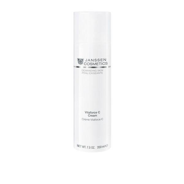 JANSSEN COSMETICS Крем Vitaforce C Cream Регенерирующий с Витамином С, 200 мл