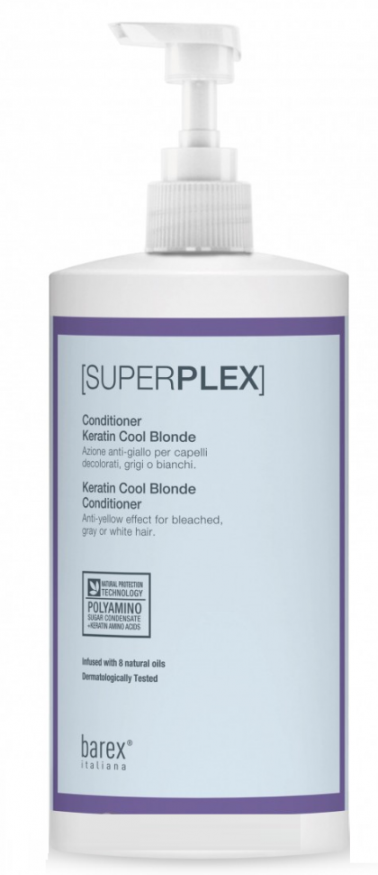 Barex Кондиционер Superplex для Придания Холодного Оттенка, 750 мл