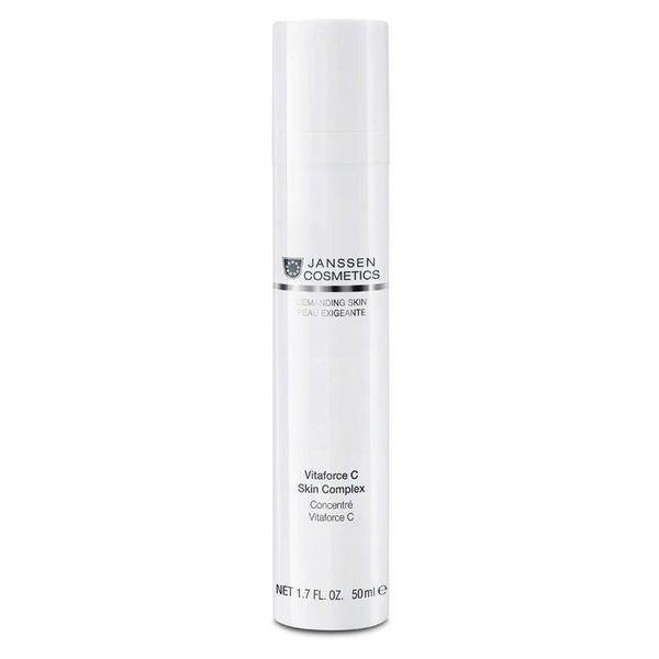 JANSSEN COSMETICS Концентрат Vitaforce C Skin Complex Регенерирующий с Витамином С, 50 мл
