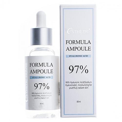 Esthetic House Сыворотка Formula Ampoule Hyaluronic Acid для Лица с Гиалуроном, 80 мл недорого