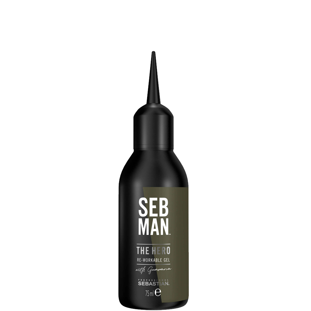 Sebastian Men Универсальный Гель для Укладки Волос The Hero, 75 мл sebastian жидкий воск для фиксации и текстуры resintek 75 мл
