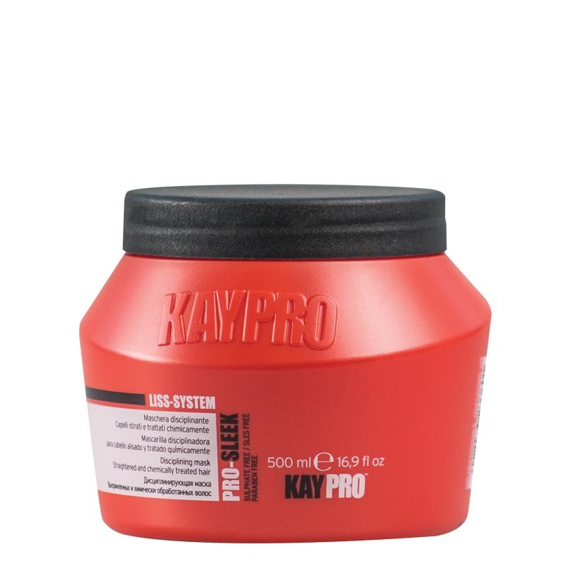 KAYPRO Маска Pro Sleek Дисциплинирующая для Химически Выпрямленных Волос, 500 мл