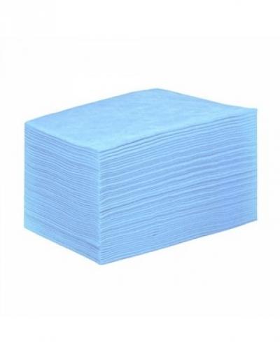IGRObeauty Простыня 80 х 200 см. 15 г./м2 Материал SMS Цвет - Голубой 50 шт шкатулка купюрница sima land собачка осень цвет голубой 17 см х 9 см х 6 см