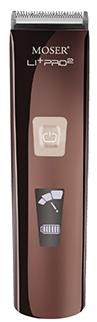 MOSER Машинка для Стрижки Аккумуляторная Сеть LI+PRO Шоколад