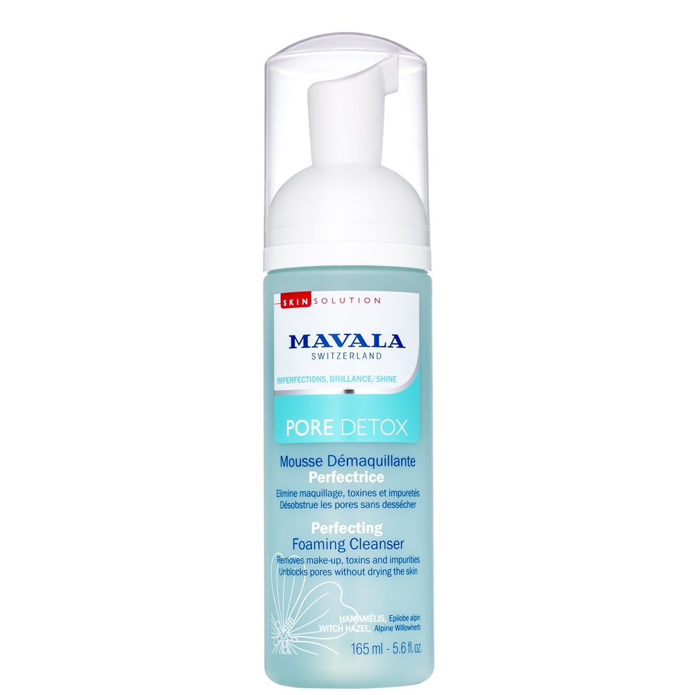 Mavala Пенка Pore Detox Perfecting Foaming Cleanser Очищающая, 165 мл