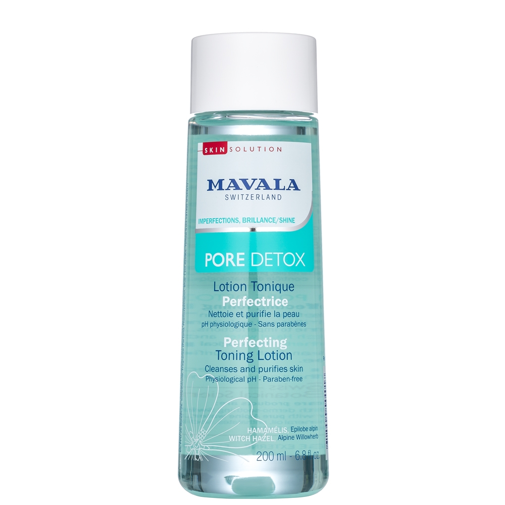 Mavala Лосьон Pore Detox Perfecting Toning Lotion Тонизирующий, 200 мл