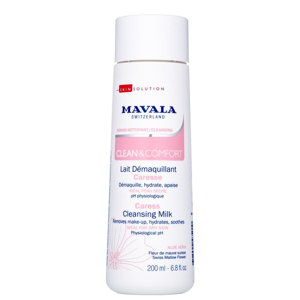Mavala Молочко Clean & Comfort Careless Cleansing Milk Очищающее для Деликатного Ухода, 200 мл mavala clean