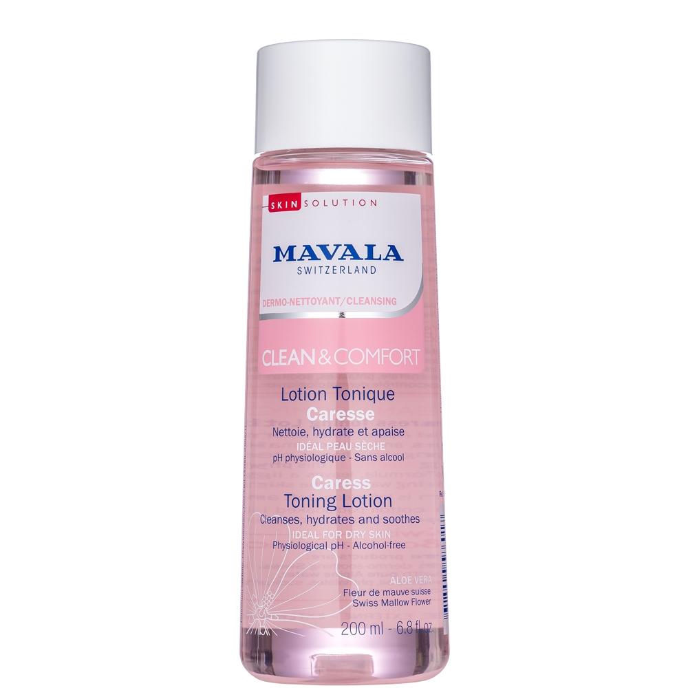 Mavala Лосьон Clean & Comfort Careless Toning Lotion для Деликатного Ухода Тонизирующий , 200 мл ducray неоптид лосьон от выпадения волос для мужчин 100 мл