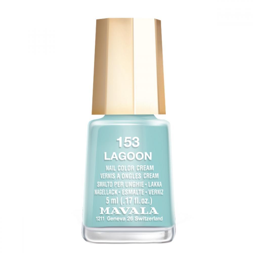 Mavala Лак Lagoon 9091153 для Ногтей Лагуна, 5 мл mavala лак wind breeze 9091116 для ногтей легкий бриз 5 мл