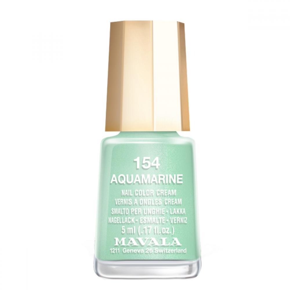 Mavala Лак Aquamarine 9091154 для Ногтей Аквамарин, 5 мл