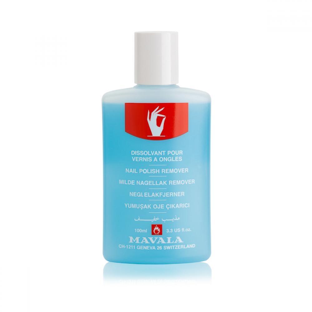 Mavala Жидкость Blue для Снятия Лака Голубая, 100 мл