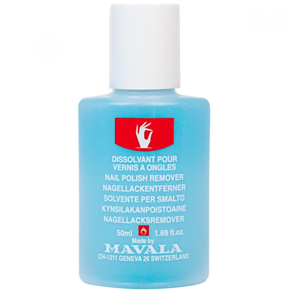 Mavala Жидкость Nail Polish Remover Blue для Снятия Лака Голубая, 50 мл