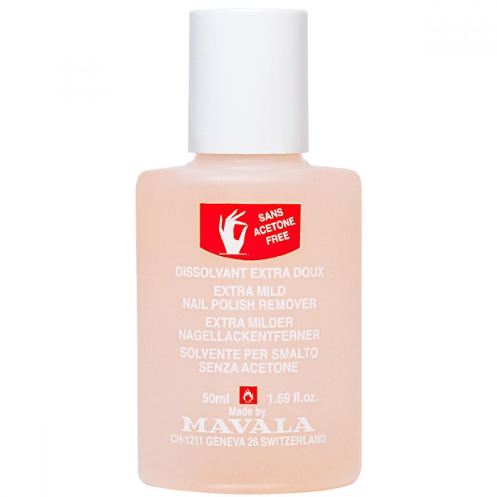 Mavala Жидкость Nail Polish Remover Pink для Снятия Лака Розовая, 50 мл