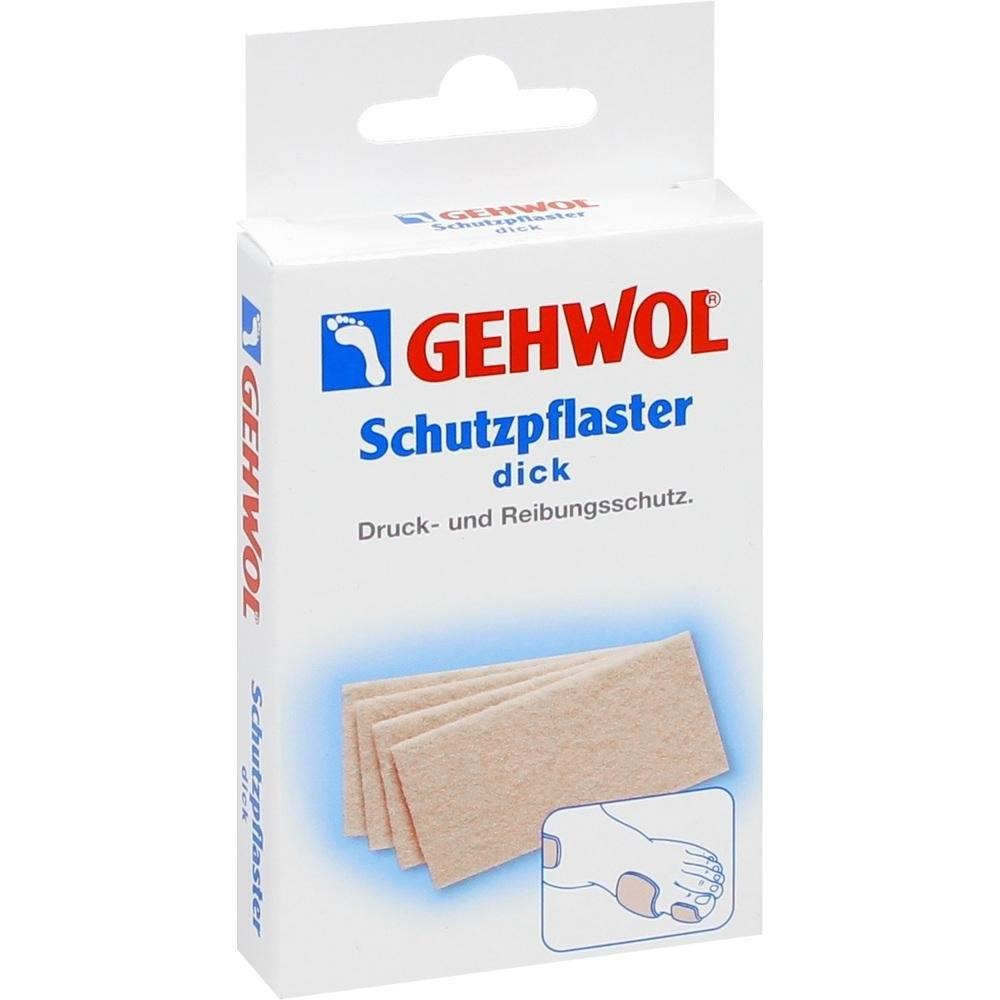 GEHWOL Защитный Пластырь (Толстый), 4 шт цены онлайн