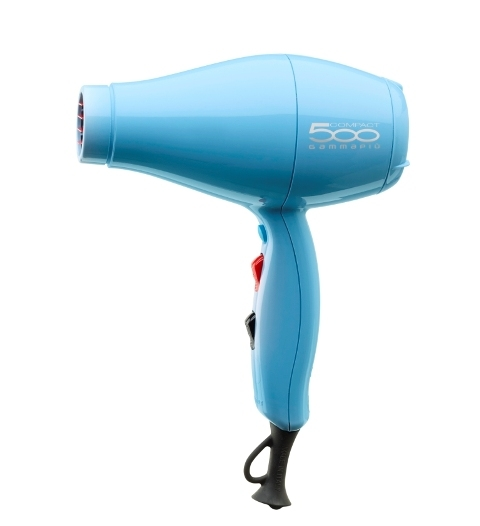 Gamma PIU Фен 500 Compact 2000 Вт Голубой фен для волос gamma piu l italiano черный
