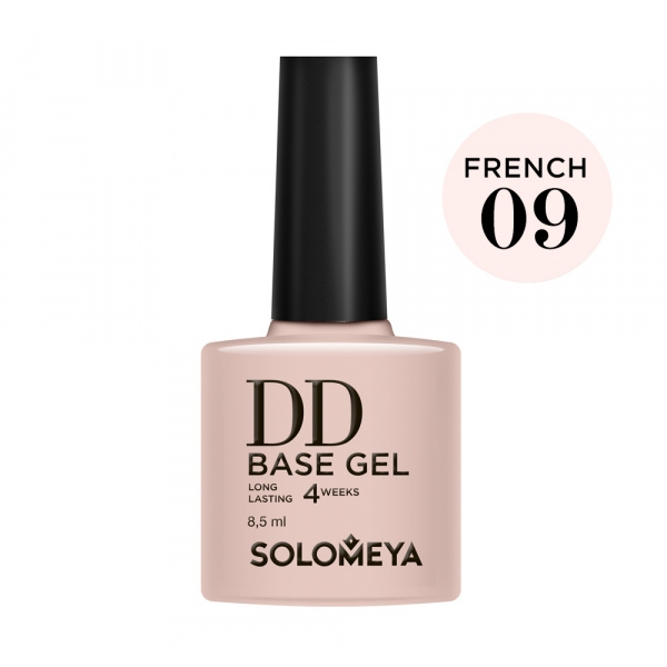 Solomeya DD-База Daily Defense Суперэластичная Цвет French 09 DD Base Gel 23