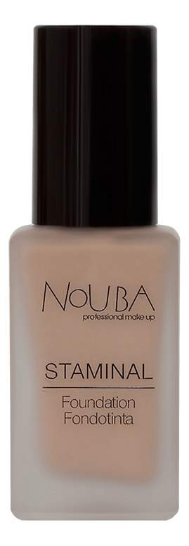 NoUBA Основа Staminal Foundation 101 Тональная, 30 мл nouba карандаш staminal concealer 03 корректирующий 1 5 мл
