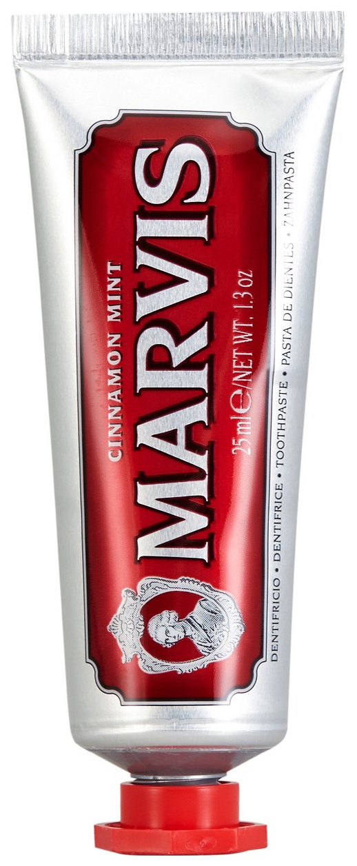 Marvis Паста Cinnamon Mint Зубная Мята и Корица, 25 мл