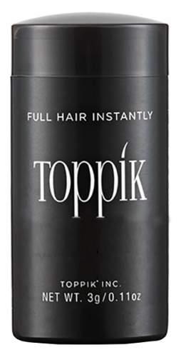 TOPPIK Пудра-Загуститель Hair Building Fibers для Волос Цвет Светло-Каштановый, 3г