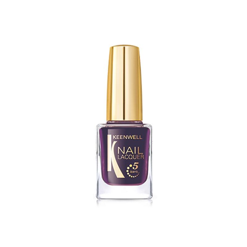 Keenwell декоративная косметика Лак для Ногтей №10 (Пурпурный (Голографический глянец)), 12 мл