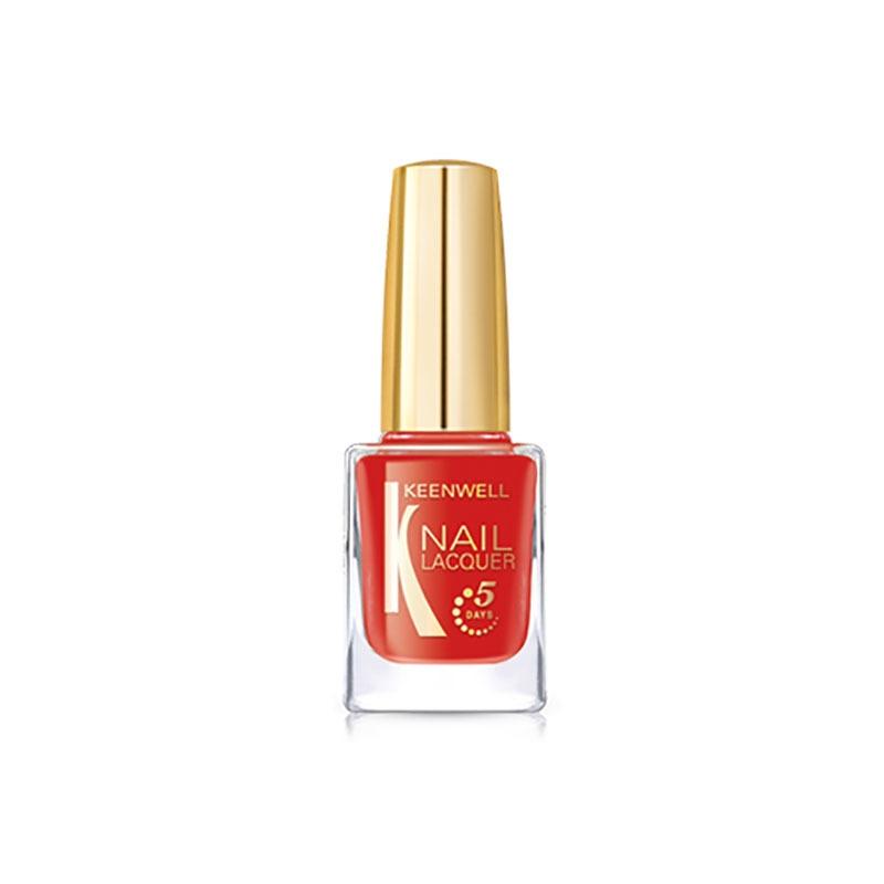 Keenwell декоративная косметика Лак для Ногтей №11 (Ярко-Красный (глянец)), 12 мл
