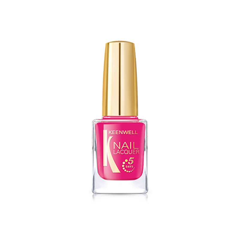 Keenwell декоративная косметика Лак для Ногтей №17 (Розовый Мармелад (глянец)), 12 мл декоративная косметика флер оптом