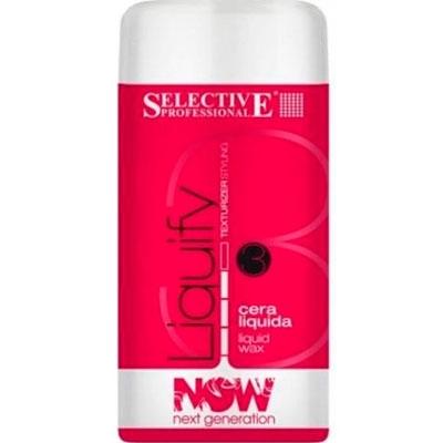 Selective Professional Liquify Жидкий Воск для Моделирования, 100 мл sebastian жидкий воск для фиксации и текстуры resintek 75 мл