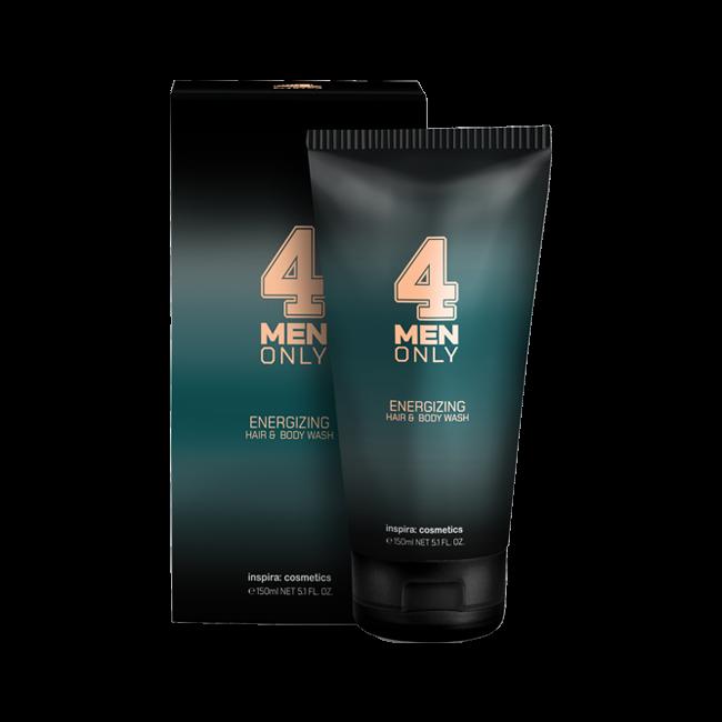 lumene for men voima energizing face wash JANSSEN COSMETICS Гель Energizing Hair & Body Wash 4 Men Only Тонизирующий Очищающий для Волос и Тела, 150 мл