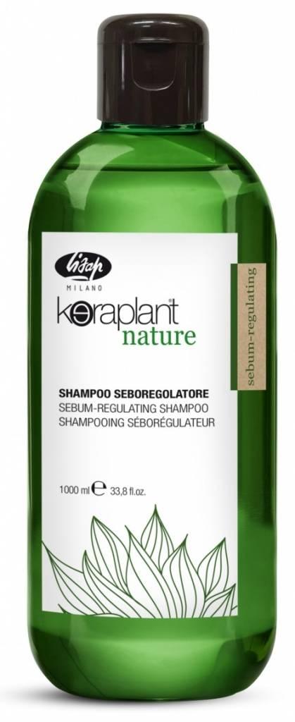 Lisap Шампунь Себорегулирующий Keraplant Nature Sebum-Regulating Shampoo, 1000 мл
