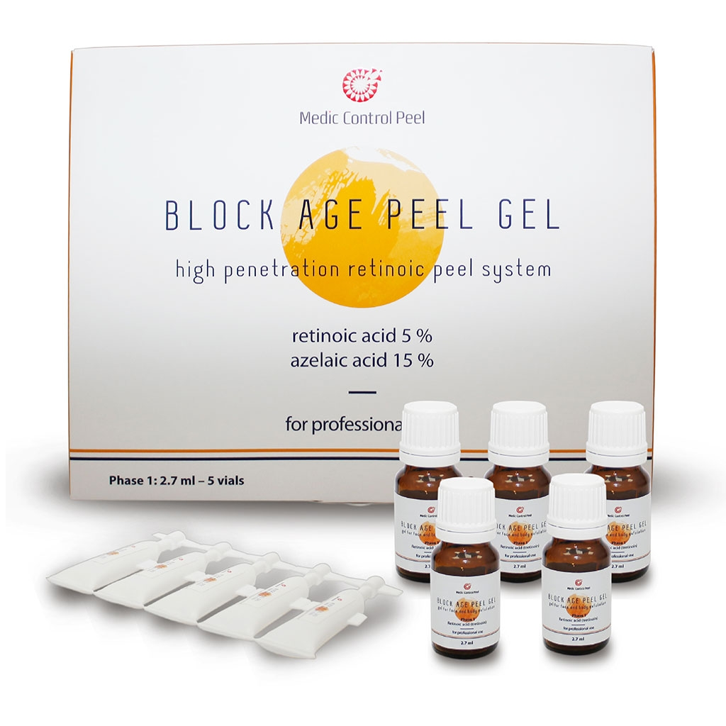 Medic Control Peel Гель Block Age Peel Gel Блок Эйдж Пил, 2,7+2,3 мл