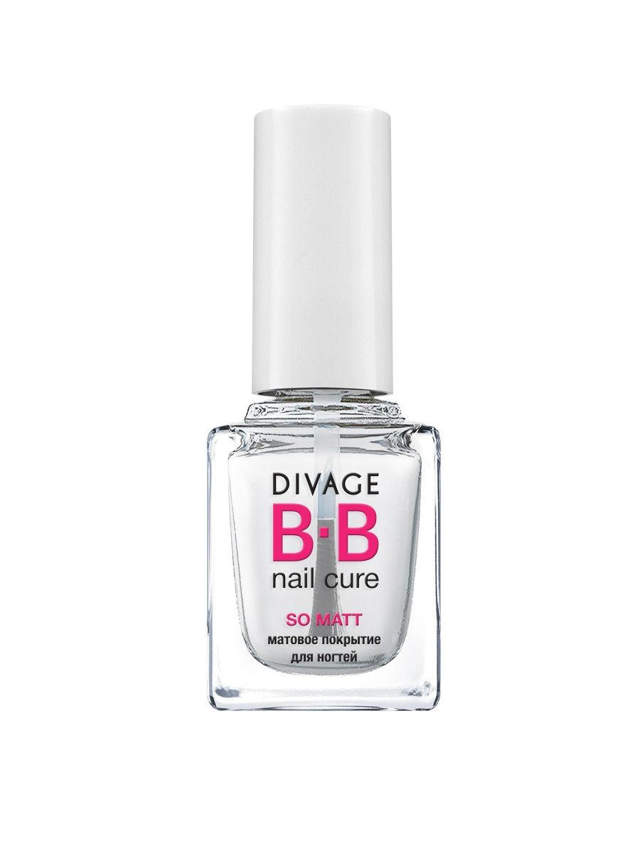 Divage Матовое Покрытие для Ногтей `so matt` Bb divage матовое покрытие для ногтей so matt bb