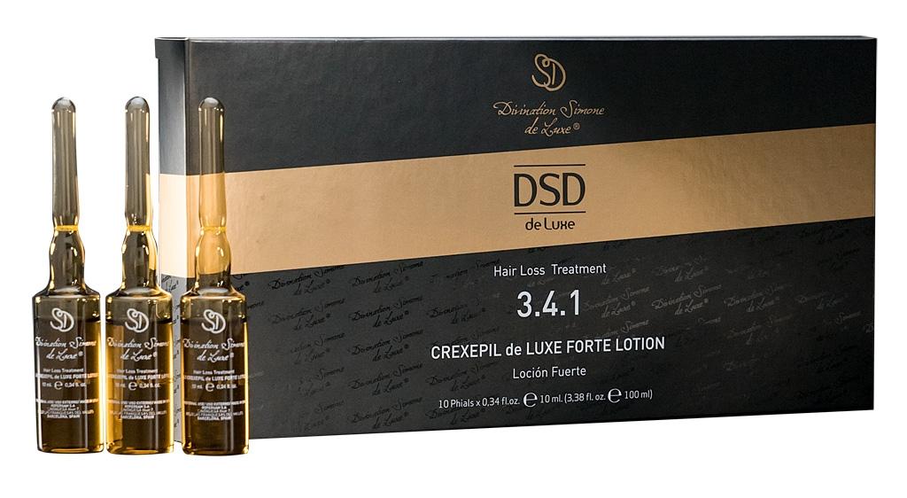 DSD De Luxe Лосьон Crexepil de Luxe Forte Lotion № 3.4.1 Крексепил Де Люкс Форте, 10 Ампул*10 мл ducray неоптид лосьон от выпадения волос для мужчин 100 мл