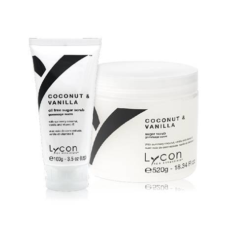 Lycon Скраб Coconut & Vanilla Sugar Scrub для Тела Кокос и Ваниль, 100г