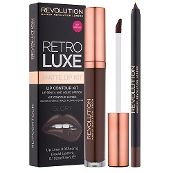 Makeup Revolution Набор для Макияжа Губ Retro Luxe Kits Matte Glory