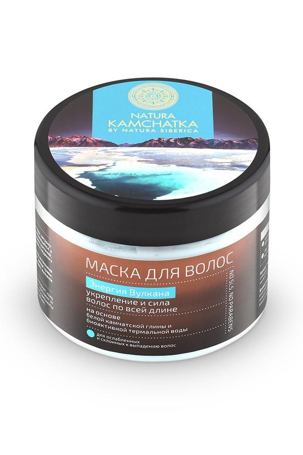Natura Siberica Маска для Волос Энергия Вулкана Укрепление и Сила Волос, 300 мл