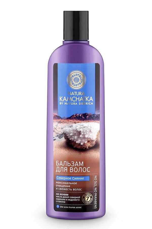 цена на Natura Siberica Бальзам Kamchatka Северное Сияние Очищение и Свежесть Волос, 280 мл