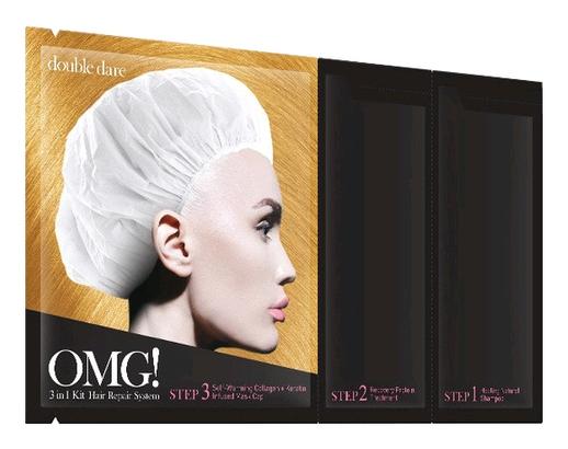 Double Dare OMG Трехкомпонентный Комплекс Масок Реанимация Волос, 5 шт
