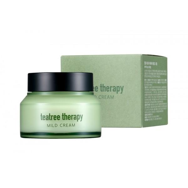 Eunyul Крем с Экстрактом  Чайного Дерева Tea Tree Therapy Mild Cream,, 70г rainbowbeauty антиоксидантная маска пилинг ночной крем с экстрактом чайного дерева