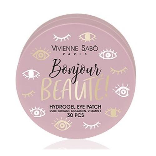 Фото - Vivienne Sabo Патчи Bonjour Beaute Гидрогелевые для Глаз, 30 шт гидрогелевые патчи для глаз christian breton paris 8 марта женщинам