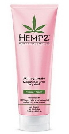 HEMPZ Гель Body Wash - Pomegranate для Душа с Гранатом, 250 мл adidas гель для душа шампунь и гель для умывания body hair face after sport мужской 250 мл