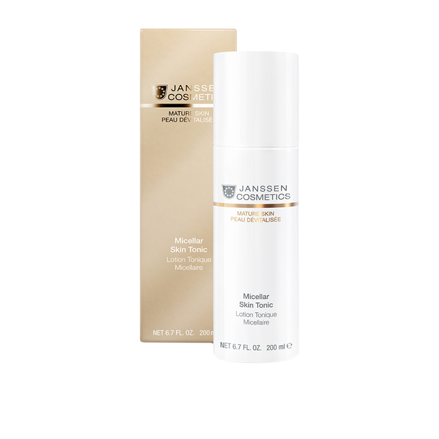 Janssen Тоник Мицеллярный с Гиалуроновой кислотой Micellar Skin Tonic, 200 мл janssen dry skin radiant firming tonic