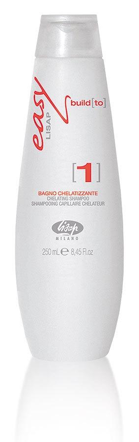 Lisap Хелатный Шампунь для Волос Easy Build to 1 Chelating Shampoo, 250 мл