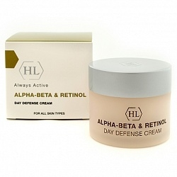 Holy Land Крем Alpha-Beta & Retinol (Abr) Day Defense Cream Spf 30 Дневной Защитный, 50 мл holy land набор abr kit abr lot 125 abr day 50 abr rest 50