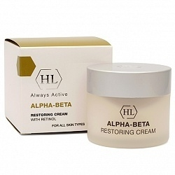 Holy Land Крем Alpha-Beta & Retinol (Abr) Restoring Cream Восстанавливающий, 50 мл holy land набор abr kit abr lot 125 abr day 50 abr rest 50
