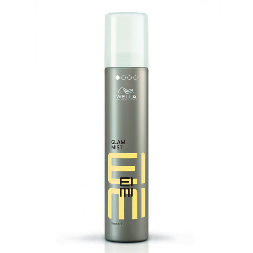 Wella Дымка-спрей Glam Mist для блеска, 200 мл увлажняющий спрей дымка для тела с экстрактом пиона klorane moisturizing body mist mist with peony extract 200 мл