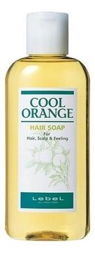 Lebel Cosmetics Шампунь Cool Orange Hair Soap Холодный Апельсин, 200 мл