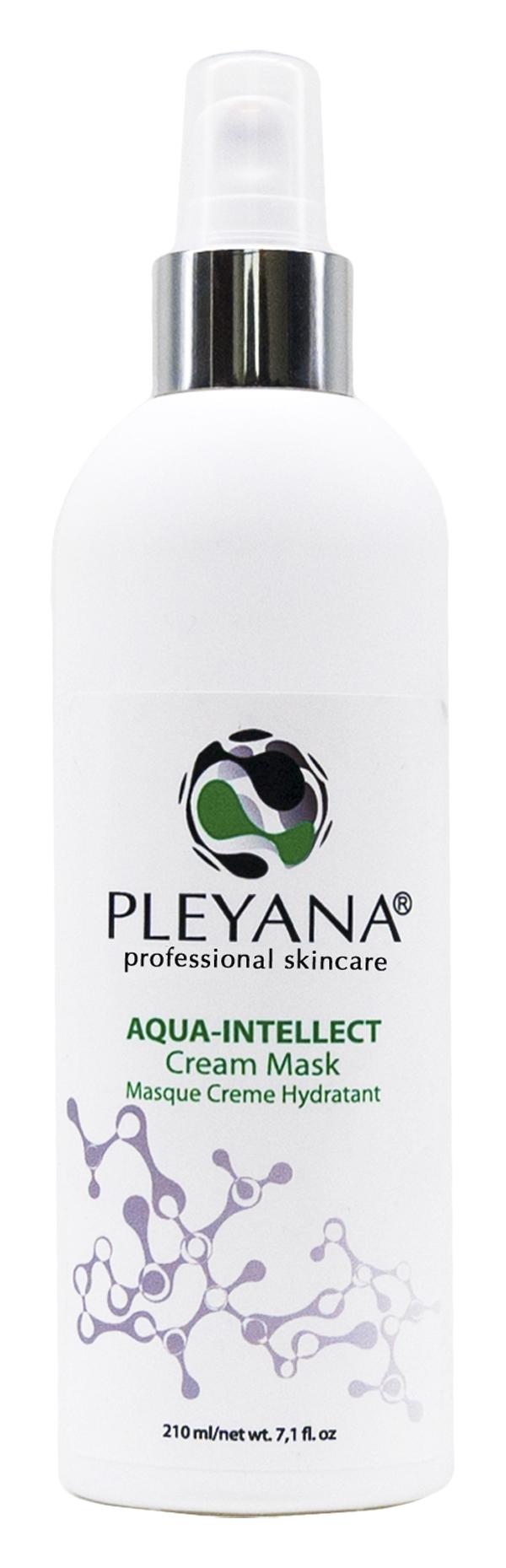 Pleyana Крем-Маска Увлажняющая Aqua-Intellect 2-в-1, 200 мл