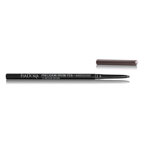 IsaDora Карандаш Precision Brow Pen Waterproof 72 для Бровей, 0,09г isadora карандаш eye brow lifter highlighting pen для бровей 1 шт