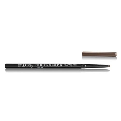 IsaDora Карандаш Precision Brow Pen Waterproof 74 для Бровей, 0,09г isadora карандаш eye brow lifter highlighting pen для бровей 1 шт